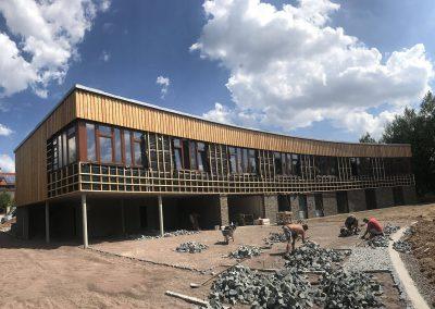 Administrativní budova Lesní správy - Choceň - reference Dřevostavby Prefast