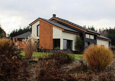 Rodinný dům Mikulec reference dřevostavby Prefast