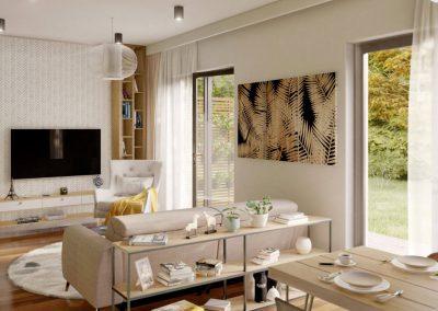 Klasický dům K88 vizualizace interiéru